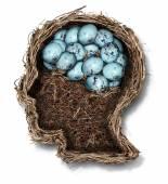 Protecting The Brain — Stok fotoğraf
