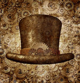 Steampunk Top Hat  — Stock Photo