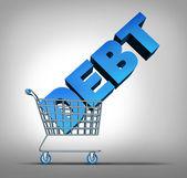 Verbraucherschulden — Stockfoto