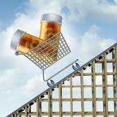 Rising Medicine Costs — Stock Photo
