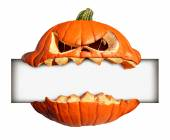 Halloween Blank Sign — Stock Photo