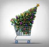 Christmas Shopping — Stockfoto