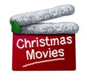 Christmas Movies — Stock Photo