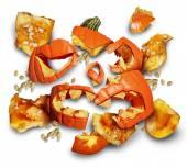 Pumpkin Smashed — Stock Photo