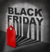 Black friday koop — Stockfoto
