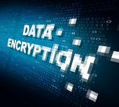 Data Encryption — Stock Photo