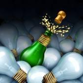 Happy New Year Idea — Stock Photo