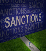 Economic Sanctions — Stock Photo