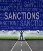 Lfting Sanctions — Stock Photo