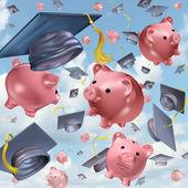 Education savings — Stock Photo