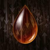 Oil Industry Volatility — Stock Photo