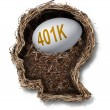 401k Plan — Stock Photo #63914905
