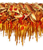 Greasy Fast Food — Stock Photo