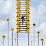 Success Ladder — Stock Photo #66306581
