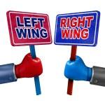 Постер, плакат: Left And Right Politics