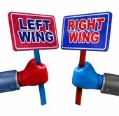 Left And Right Politics — Stock Photo