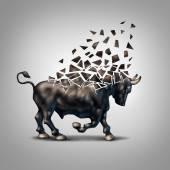 Fragile Bull Market — Stock Photo