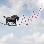 Bull Market Risk — Stock Photo