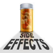 Prescription Medication Side Effects — Stock Photo