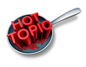 Hot Topic — Stock Photo
