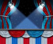 Election Background — Stock Photo