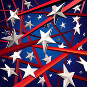 American Stars And Stripes — Stock Photo