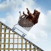 Stock Market Decline — Zdjęcie stockowe