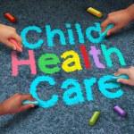 Child Health Care — Stock Photo #79041704