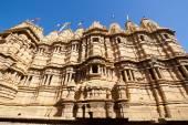 Jain Temple in Jaisalmer — Stock Photo