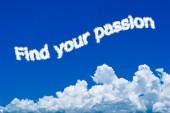 Encontre sua paixão — Foto Stock