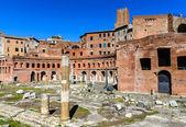 Trajan Markets, Rome, Italy — Stock Photo
