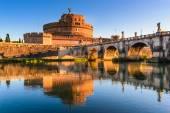 Castel Sant Angelo, Rome, Italy — Stock Photo