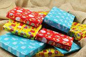 Presentes para sinterklaas — Fotografia Stock