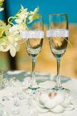 Tropical wedding ceremony, accessories — Stok fotoğraf