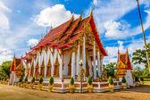 O Templo Wat Chalong — Fotografia Stock