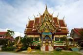 Excursion to the temple of Wat Plai Laem on the island Samui — Stok fotoğraf