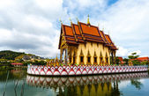 Excursion to the temple of Wat Plai Laem on the island Samui — Photo