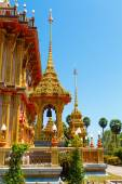 Excursion to the temple Wat Chalong — 图库照片