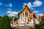 Excursion to the temple Wat Chalong — Stock Photo