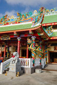 Excursion to the Chinese temple on Chalong — Stock Photo