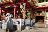Экскурсия в китайский храм в Чалонг — Стоковое фото
