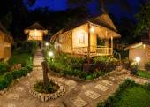 Bungalow  for a lodging for the night — Stock Photo