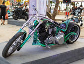 Annual festival of bikers on Phuket in Thailand — Stock Photo