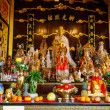 Celebration of the Chinese new year in the temple Saphan Hin — Stock Photo #65232315