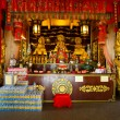 celebration of the Chinese new year in the temple Saphan Hin — Stock Photo #65239087