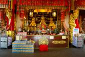 celebration of the Chinese new year in the temple Saphan Hin — Stockfoto