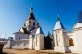 Krasnoyarsk, Russia - April 2, 2015: excursion to the Uspensky m — Stock Photo