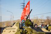 "Celebration ""A Victory Day 9maya"", festive taming, festive parad — Stock fotografie"