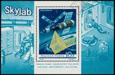 Briefmarke gedruckt in Ungarn zeigt Skylab — Stockfoto