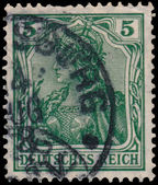 Stamp printed in Germany shows Germania — Foto Stock